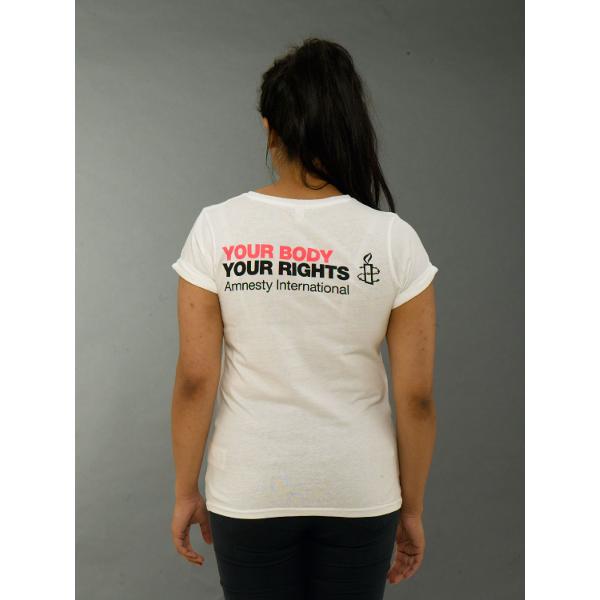 My Body My Rights Amnesty T Shirt Amnesty