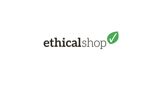 ES logo in the ethical shop