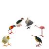 Seedpod Bird Decorations