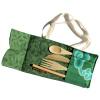 Bamboo Cutlery Set in Batik Pouch