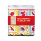 Chillies of the World Tea Towel