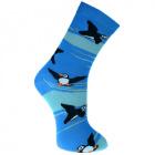 Puffin Bamboo Socks, size 4-7
