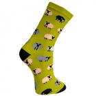 Sheep Bamboo Socks, size 4-7