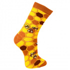 Save Our Bees Bamboo Socks, size 4-7