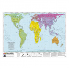 Peters Projection Map (Laminated)